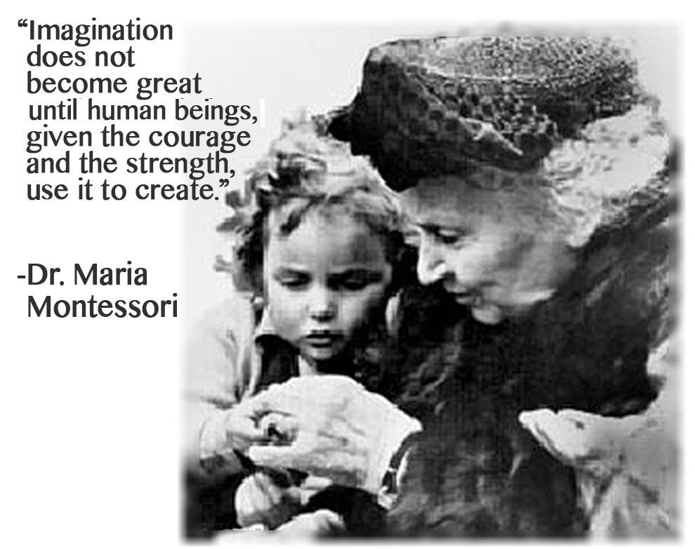 Follow the Child Dr. Montessori
