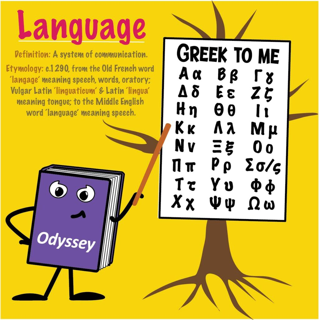 Word Study blog by Grumble Services - Word Study, it's all Greek to me!