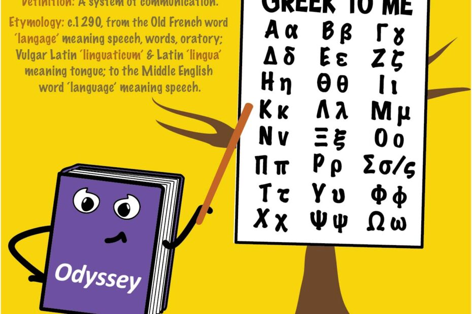 Montessori Blog - Word Study blog by Grumble Services - Word Study, it's all Greek to me!
