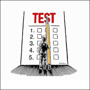 Montessori Blog - Standardized Testing - Grumble Services Learning Resources Blog Post